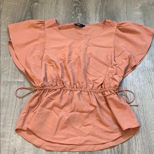 Express Thorn berry blouse
